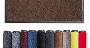 Carpet Diem Rio C Schmutzfangmatte 5 Groessen 10 310x165 - Carpet Diem Rio C Schmutzfangmatte - 5 Größen - 10 Farben Fußmatte mit äußerst starker Schmutz und Feuchtigkeitsaufnahme - Sauberlaufmatte in braun 90 x 150 cm