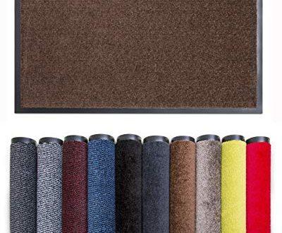 Carpet Diem Rio C Schmutzfangmatte 5 Groessen 10 400x330 - Carpet Diem Rio C Schmutzfangmatte - 5 Größen - 10 Farben Fußmatte mit äußerst starker Schmutz und Feuchtigkeitsaufnahme - Sauberlaufmatte in braun 90 x 150 cm