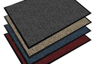Floordirekt EVEREST Schmutzfangmatte Sky - Testsieger - Fußmatte in vielen Farben und Größen - anthrazit-schwarz, 60x90 cm