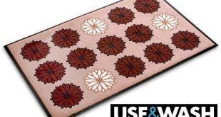 Fussmatte Flower Power Use Wash 3 Groessen 310x165 - Fußmatte Flower Power - Use & Wash - 3 Größen wählbar, 135x200cm