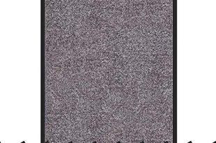 Schmutzfangmatte Rhine   schadstoffgeprüft   waschbare & extra leistungsstarke Fußmatte   Sauberlaufmatte mit Rutschfester Rückseite   Türmatte in vielen Größen & Farben (40x60 cm, Grau)