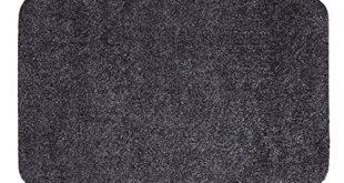 andiamo Fussmatte Samson waschbare resistente Tuermatte aus 100 Baumwolle 310x165 - andiamo Fußmatte Samson, waschbare & resistente Türmatte aus 100% Baumwolle, Größe:100x150cm, Farbe:Anthrazit