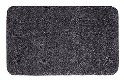 andiamo Fussmatte Samson waschbare resistente Tuermatte aus 100 Baumwolle 500x330 - andiamo Fußmatte Samson, waschbare & resistente Türmatte aus 100% Baumwolle, Größe:100x150cm, Farbe:Anthrazit